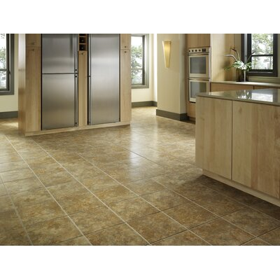 """Avaire Choice 6"""" x 6"""" Porcelain Tile with Interlocking Tray in Tierra"""