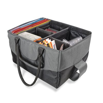 AutoExec File Tote Bag, 600-Denier Nylon