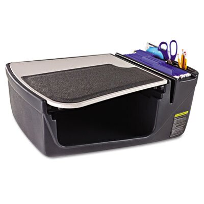 AutoExec GripMaster Car Desk in Gray