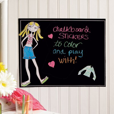 Wallies Ruby Dress-Up Chalkboard