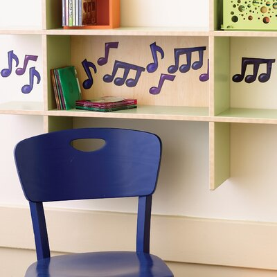 Musical Notes Wallpaper Cutouts