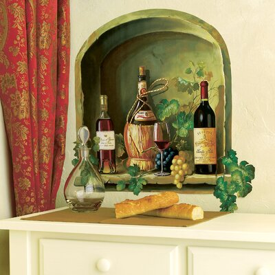 Wallies Wine Alcove Wallpaper Mural