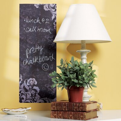 Wallies Frilly Chalkboard Vinyl Peel and Stick