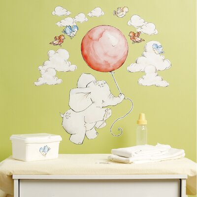 Wallies Flying High Peel and Stick Wall Stickers