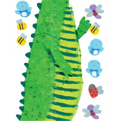 Wallies Wall Play Crocodile Growth Chart