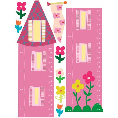 Wallies Wall Play Princess Growth Chart
