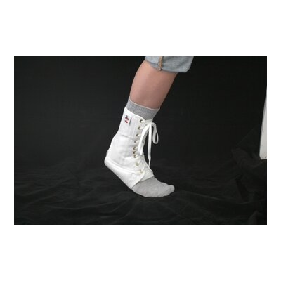 Core Products Lace Up Ankle Support in White