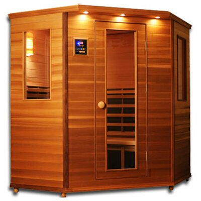 Clearlight Infrared Sauna Premier 3 - 4 Person Carbon and Ceramic FAR Infrared Sauna