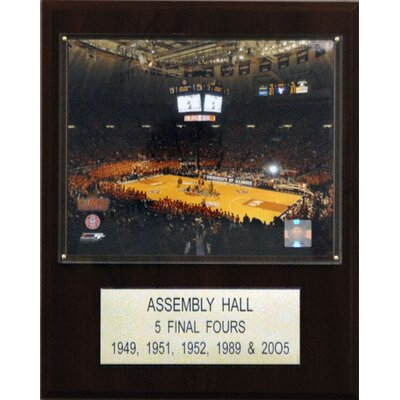 NCAA Basketball Stadium Plaque