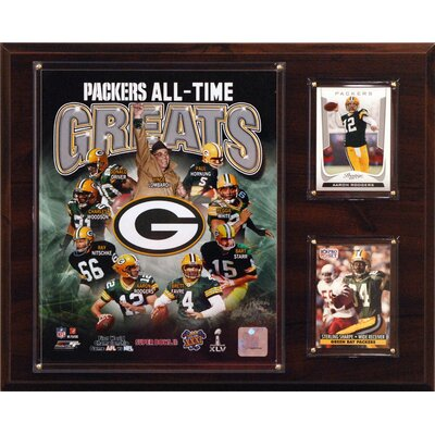 C & I Collectibles NFL All -Time Great Photo Plaque