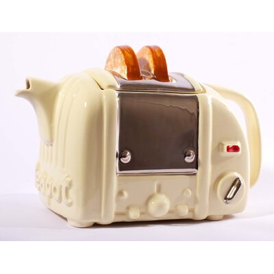 Tea Pottery Retro Toaster Tea Pot