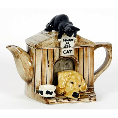 Tea Pottery One Cup Kennel Tea Pot
