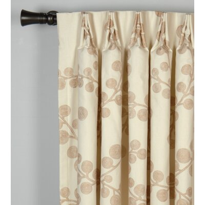 Niche Astaire Cotton Grommet Curtain Single Panel