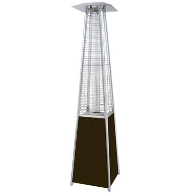 AZ Patio Heaters Tall Quartz Glass Tube Propane Patio Heater
