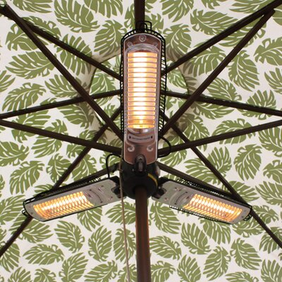 AZ Patio Heaters Parasol Electric Patio Heater
