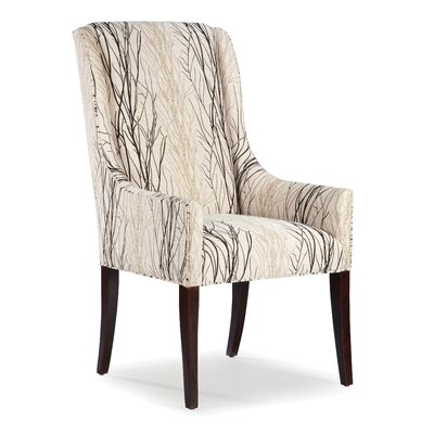 arm dining chair fairfield chair high back dining arm chair reviews wayfair