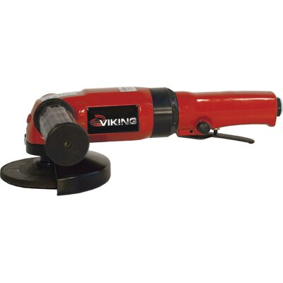 "Viking Air Tools 4"" Heavy Duty Angle Grinder"