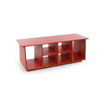 Loll Designs Cubby Solid Wood Storage Bench