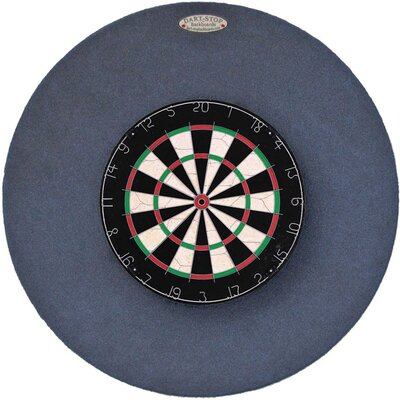 "Dart-Stop Original 36"" Round Backboard in Indigo"
