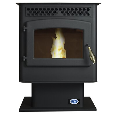 Small 1,800 Square Foot Pellet Stove