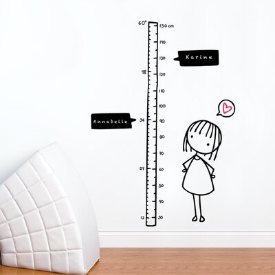 ADZif Piccolo Watch Me Grow! Girl Wall Decal