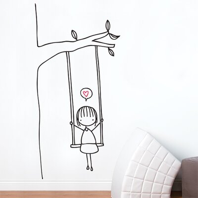 ADZif Piccolo Swinging Wall Decal