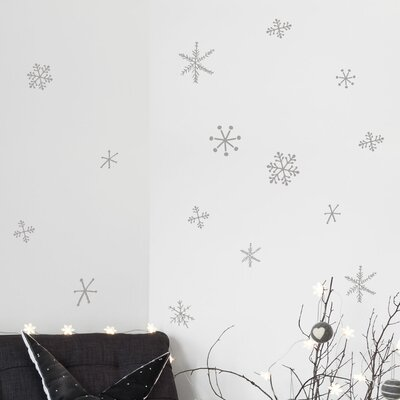 Christmas 2013 Snowflakes Decals