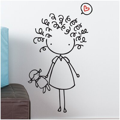 Piccolo Mop Top Wall Decal