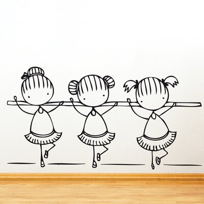 Piccolo Ballet Class Wall Decal