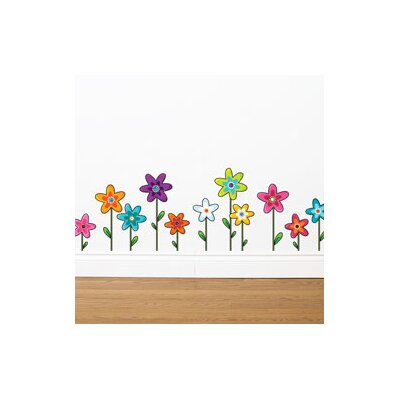 ADZif Ludo Wild Flowers Wall Decal