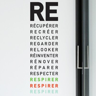 BlaBla Respirer Wall Decal