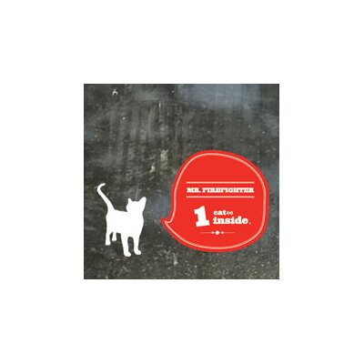 ADZif Signal Cat(s) Inside Window Sticker