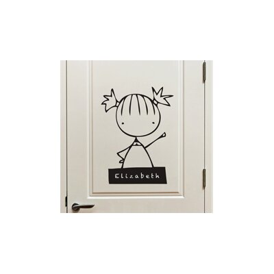 Piccolo My Name Is Girl Wall Decal