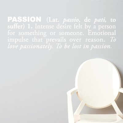 ADZif Blabla Passion (English) Wall Decal