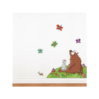 ADZif Ludo Animals Listen to a Story Wall Decal