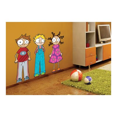 ADZif Ludo Eliot, Ludo and Lou Wall Decal