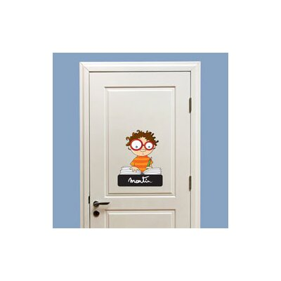 ADZif Ludo Door Sign - Boy Wall Decal