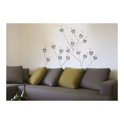 ADZif Spot Bouquet Wall Decal in Warm Grey