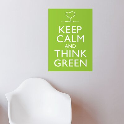 ADZif Blabla Think Green Wall Stickers