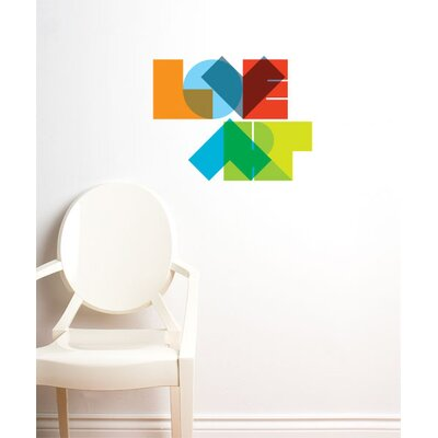 ADZif BlaBla Love Art Wall Decal