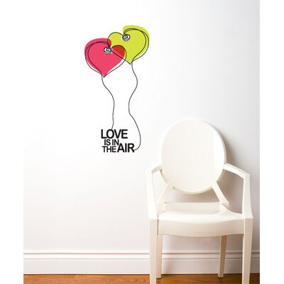 ADZif BlaBla Love is in The Air Wall Decal