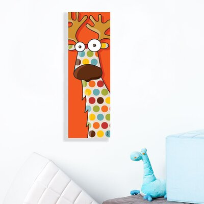 ADZif Canvas Reindeer Wall Decal