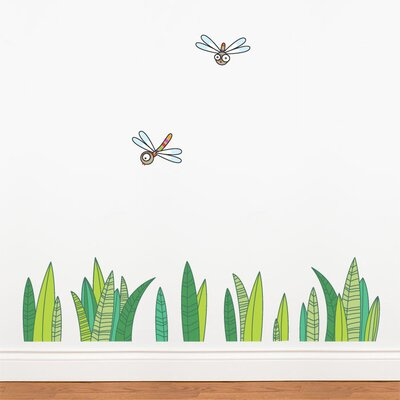 Ludo Grass Wall Sticker
