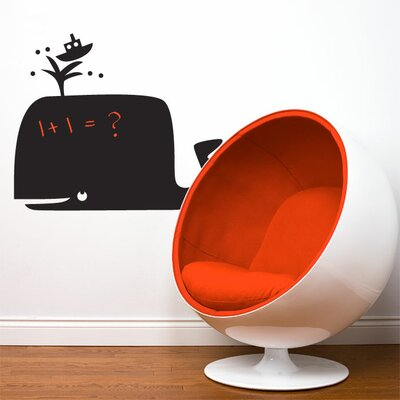ADZif Memo Whale Wall Decal