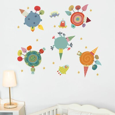 ADZif Piccolo Planets Wall Sticker