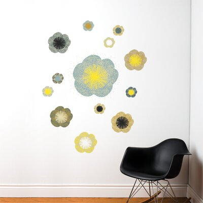 ADZif Spot Solstice Flowers Wall Decal