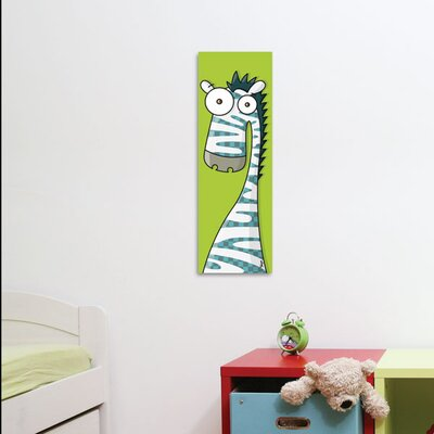 ADZif Canvas Zebra Wall Decal