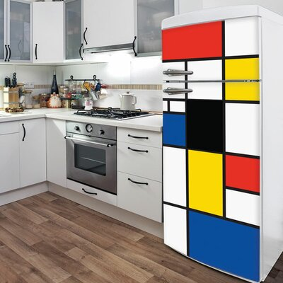 ADZif Domo Pop Mondrian Wall Decal