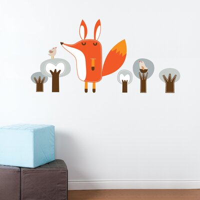 ADZif Piccolo Paolo the Fox Wall Sticker