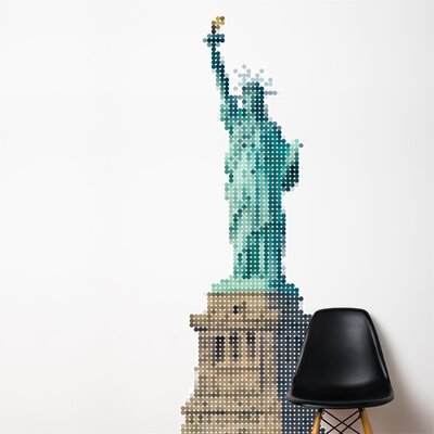 XXL Lady Liberty Wall Sticker